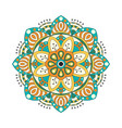 abstract design elements round mandalas in vector image vector image