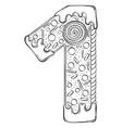 alphabet gingerbread serial number 1