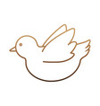 dove icon image vector image vector image