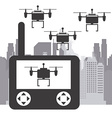 drone technology vector image vector image