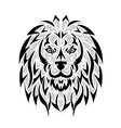 Lion tattoo vector image vector image