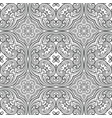 seamless geometric line pattern in eastern or vector image vector image