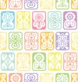 soft tile pattern vector image vector image