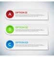 Modern 3d infographics options Abstract 3D digital vector image