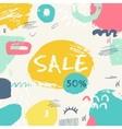 Abstract sale banner vector image vector image