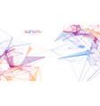 big data analytics blockchain technology vector image vector image