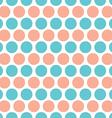 Circles rows seamless pattern vector image vector image