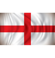 Flag of England vector image vector image