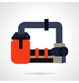 Fuel production icon vector image vector image