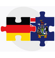 Germany and South Georgia and the South Sandwich vector image