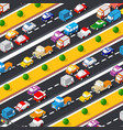 highway lifestyle city traffic vector image