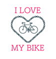 Love bike card 2