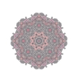 Mandala east ornament vector image vector image