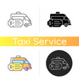 special event transportation icon vector image