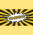 striped rays safety warning dangerous background vector image vector image