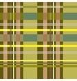Tartan yellow seamless pattern vector image vector image