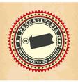 Vintage label-sticker cards of Pennsylvania vector image vector image