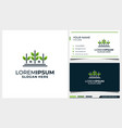 wheat leaf and home logo design and business card