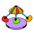 Children carousel icon icon cartoon