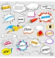 Comic Speech Bubble vector image vector image