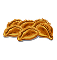 fresh hot pastries vector image vector image