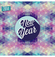 hipster new year vector image