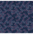 Nursery seamless pattern with color bow-tie vector image vector image