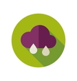 Rain Cloud flat icon Meteorology Weather