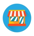 Shop icon vector image
