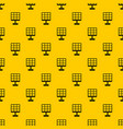 solar battery pattern vector image vector image