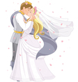 Wedding royal couple vector | Price: 5 Credits (USD $5)