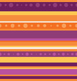 dotted halloween stripe seamless pattern vector image vector image