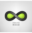 Endless road 02 A vector image