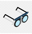 glasses for vision testing isometric icon vector image vector image