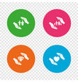 hands insurance icons family life-assurance vector image