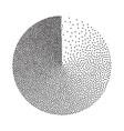 abstract geometric shape film grain noise vector image