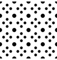 Big and small unusual polka dot seamless pattern vector image vector image