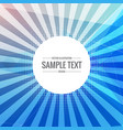 blue abstract background with transparent rays
