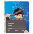 Flash guy cartoon vector image