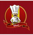 Food from Spain menu poster vector image