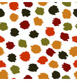 seamless pattern with colorful hand draw abstract vector image vector image