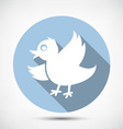 Small Cute Bird vector image