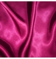 Smooth elegant pink silk vector image vector image