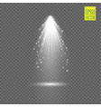 spotlights scene light effects vector image vector image