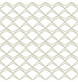abstract simple pattern on white vector image