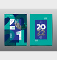 annual report 2021 2022 future business vector image vector image