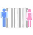 Bar code symbol vector image vector image