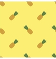 Fresh Ripe Pineapple Seamless Pattern vector image