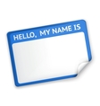 Name tag vector | Price: 1 Credit (USD $1)