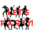 party banner vector image vector image